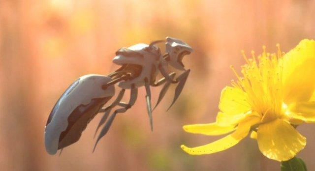 ارتش ربات ها به یاری زنبورها می آید