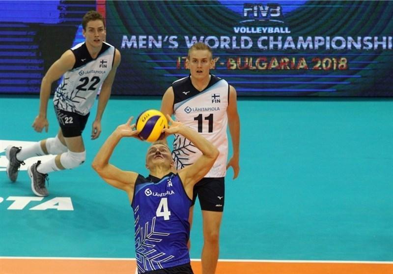 از بلغارستان، تیم های والیبال ایران و فنلاند پس از 48 سال به هم رسیدند