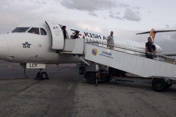 پرواز کیش به تبریز در ارومیه به زمین نشست