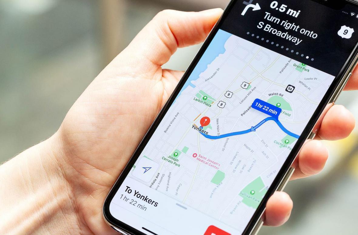 نقشه های اپل در جزئیات از گوگل پیشی گرفتند