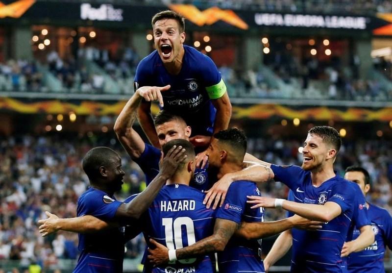 لیگ اروپا، چلسی قاطعانه برای دومین بار قهرمان شد، آرسنال جام و لیگ قهرمانان اروپا را از دست داد