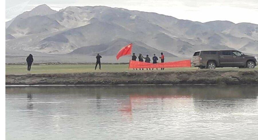 اعتراض چینی ها به برافراشته شدن پرچم تبت در هند