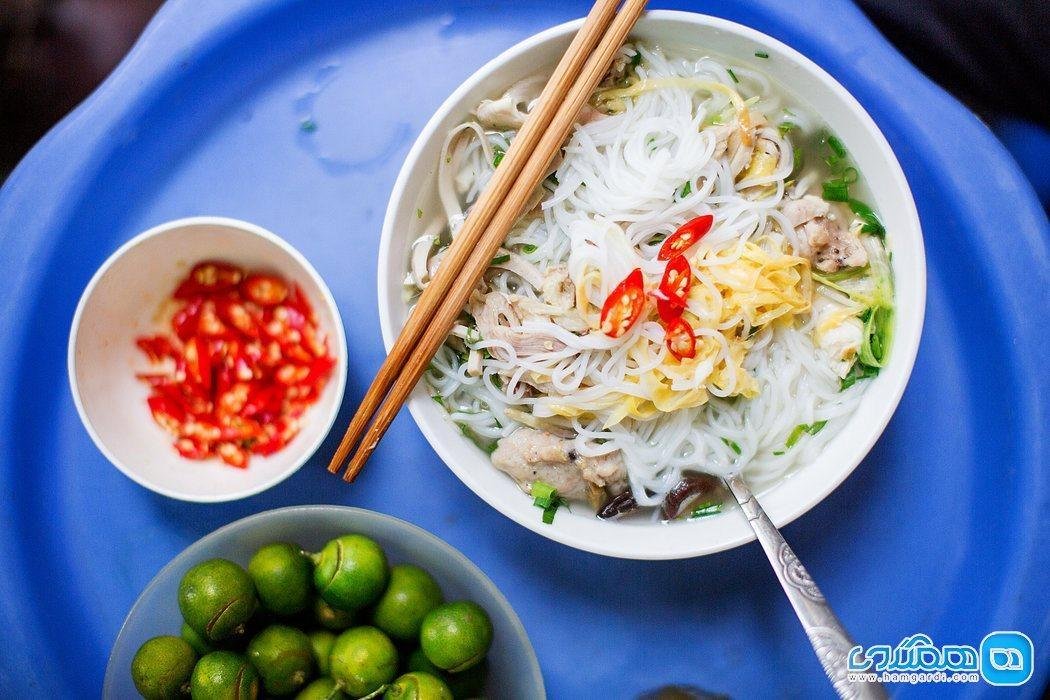 غذاهای محبوب ویتنام ، آشنایی با غذاهای ویتنامی اصیل