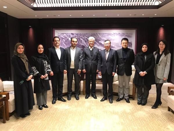 مدیر مجموعه نیاوران با مدیرکل امور بین الملل وزارت فرهنگ و گردشگری چین دیدار کرد