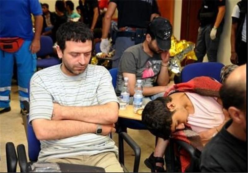 پلیس ایتالیا کشتی حامل 200 پناهنده سوری را توقیف کرد