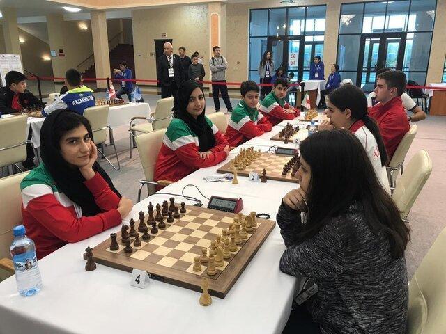 پنجمی ایران در مسابقات شطرنج سریع و برق آسای تیمی زیر 17 سال جهان