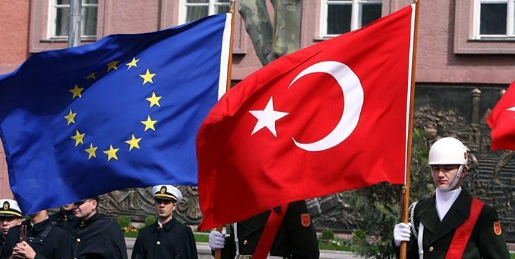 عملیات ترکیه، اتحادیه اروپا اعمال تحریم بر آنکارا را آنالیز می نماید