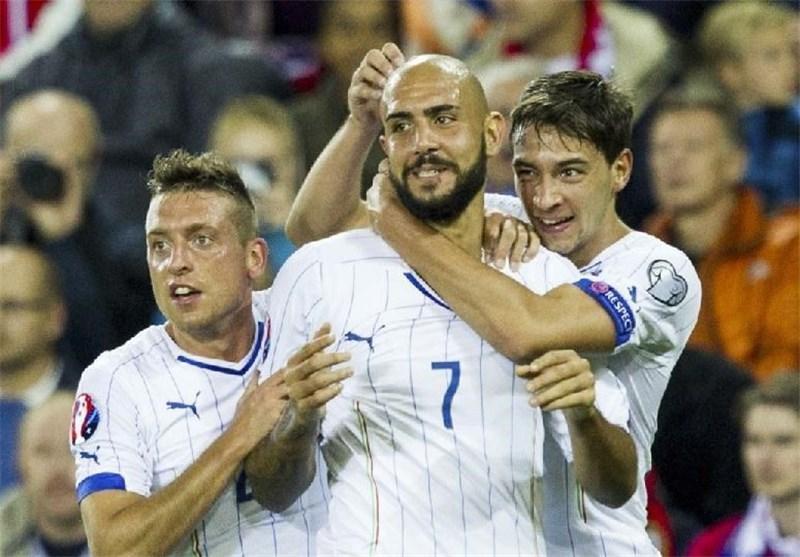 پیروزی ایتالیا در خانه نروژ، هلند مغلوب چک شد