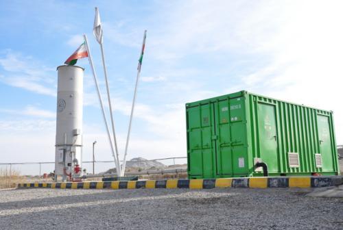 فراوری روزانه 12000 کیلو وات برق از گاز متان در مجتمع صنعتی بازیافت زباله