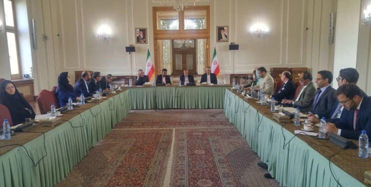 نشست مشترک سفیر یمن با سفرای آمریکای لاتین به میزبانی و مشارکت وزارت خارجه ایران