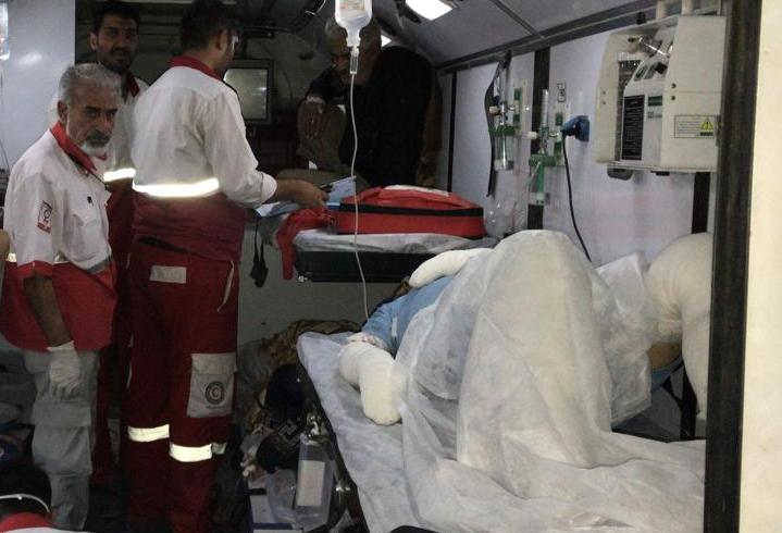 انتقال 9 بیمار و مصدوم ایرانی از کربلا به مرز مهران