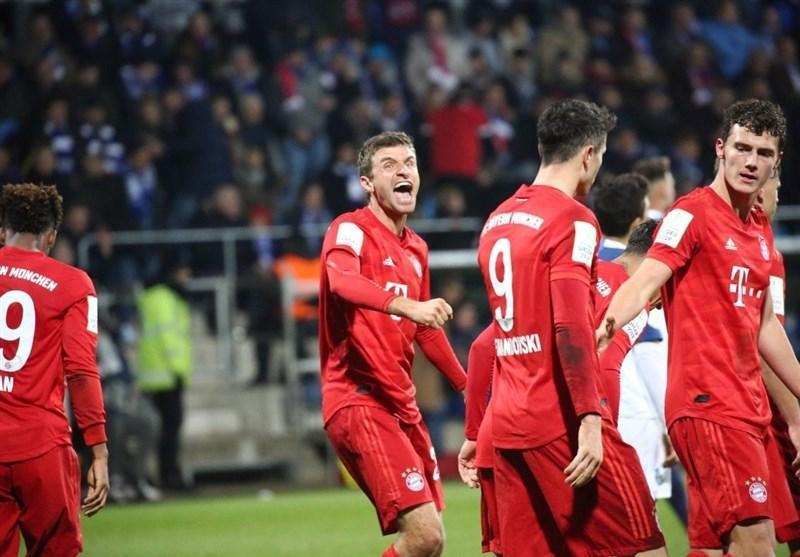جام حذفی آلمان، بایرن مونیخ در 5 دقیقه بازی باخته را برد و صعود کرد