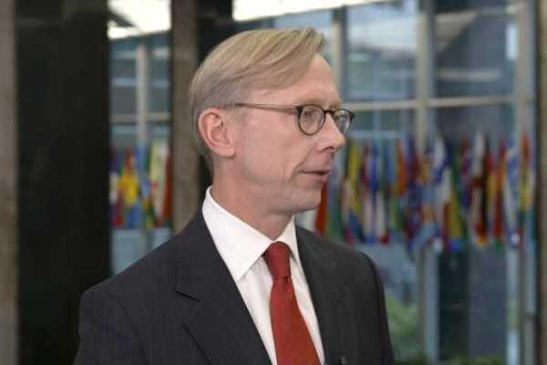 برایان هوک: آمریکا به دنبال تغییر رژیم ایران نیست!