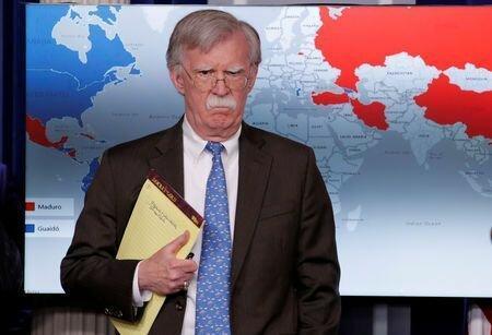 سفر بولتون به کره جنوبی به دلیل ونزوئلا لغو شد