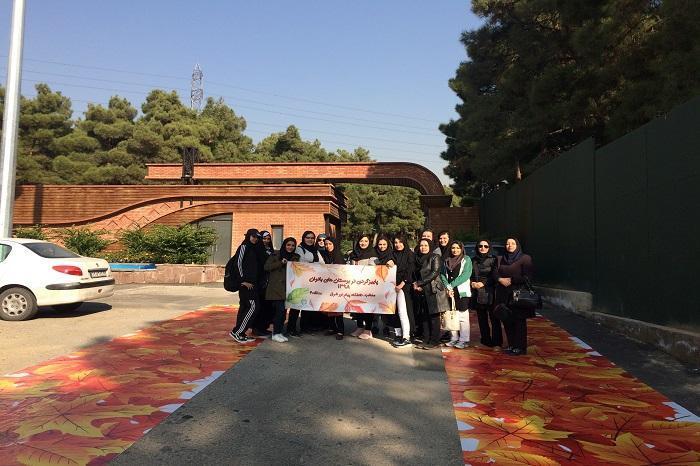 پاییزگردی بیش از 6 هزار زن و دختر تهرانی در بوستان های بانوان