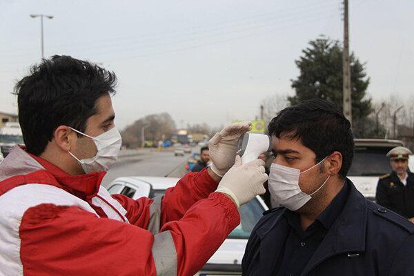 مسافران در ورودی استان سمنان تب سنجی می شوند