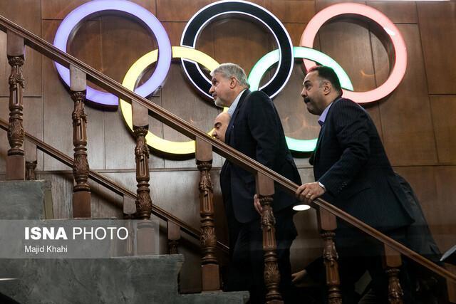 کمیته ملی المپیک پرکار در سال 98