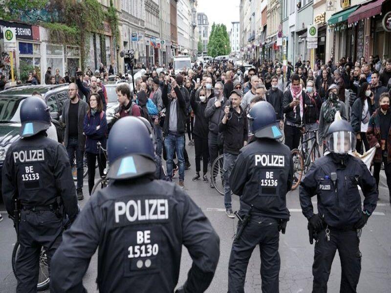 خشونت و درگیری در خیابان های آلمان