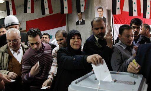 خبرنگاران خشم آمریکا از برگزاری انتخابات پارلمانی در سوریه