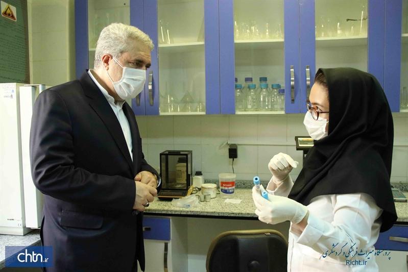 بازدید دکتر مونسان از پژوهشگاه میراث فرهنگی و گردشگری