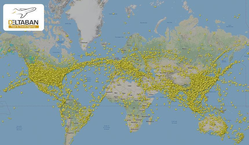 طولانی ترین مسیرهای پروازی دنیا را بشناسیم!