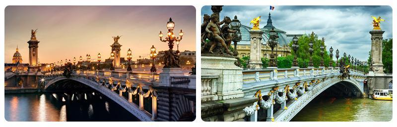 پل های روی رود سن پاریس، تصاویر