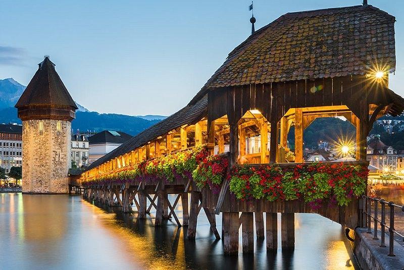 10 جاذبه برتر گردشگری شهر لوسرن سوئیس